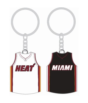 HOME/AWAY KEY CHAIN - MIAMI HURRICANES