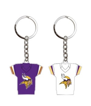 HOME/AWAY KEY CHAIN - MINN VIKINGS