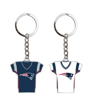 HOME/AWAY KEY CHAIN - NE PATRIOTS