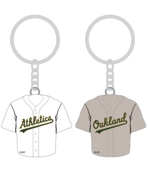 HOME/AWAY KEY CHAIN - OAK A'S