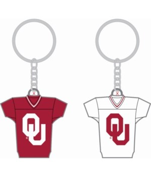 HOME/AWAY KEY CHAIN - OKLAHOMA SOONERS