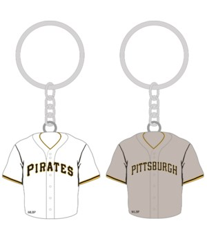 HOME/AWAY KEY CHAIN - PITT PIRATES