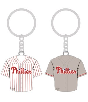 HOME/AWAY KEY CHAIN - PHIL PHILLIES