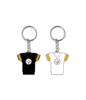 HOME/AWAY KEY CHAIN - PITT STEELERS