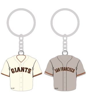 HOME/AWAY KEY CHAIN - SF GIANTS