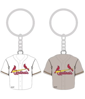 HOME/AWAY KEY CHAIN - ST LOUIS CARDINALS