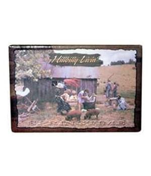 Hillbilly Springtime Magnet