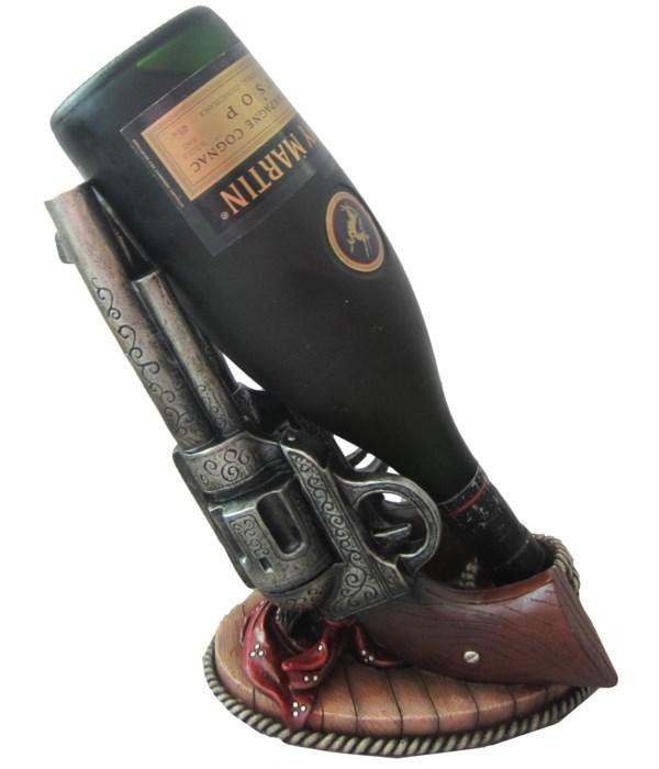 """L10"""" Wild West Wine (Cowboy Gun Wine) 4p"""