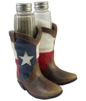 Texas Boot Salt & Pepper Holder 12PC