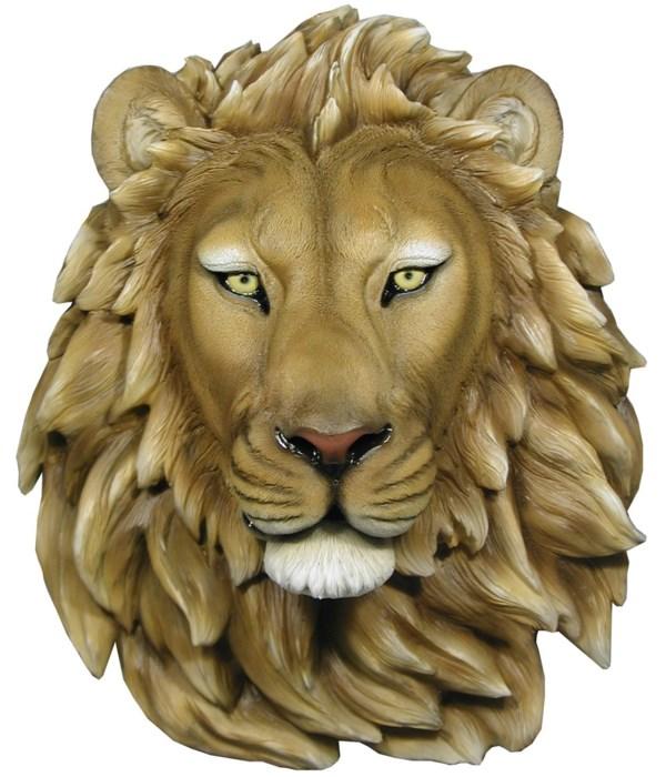 """H16.5"""" Lion Head 1PC"""