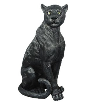 "21.25"" Ebony (Sitting Panther) 1pc/cs"