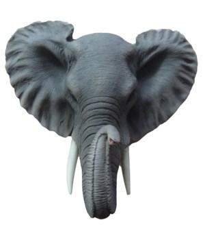 "9"" Small Elephant Hanging Head 8PC"