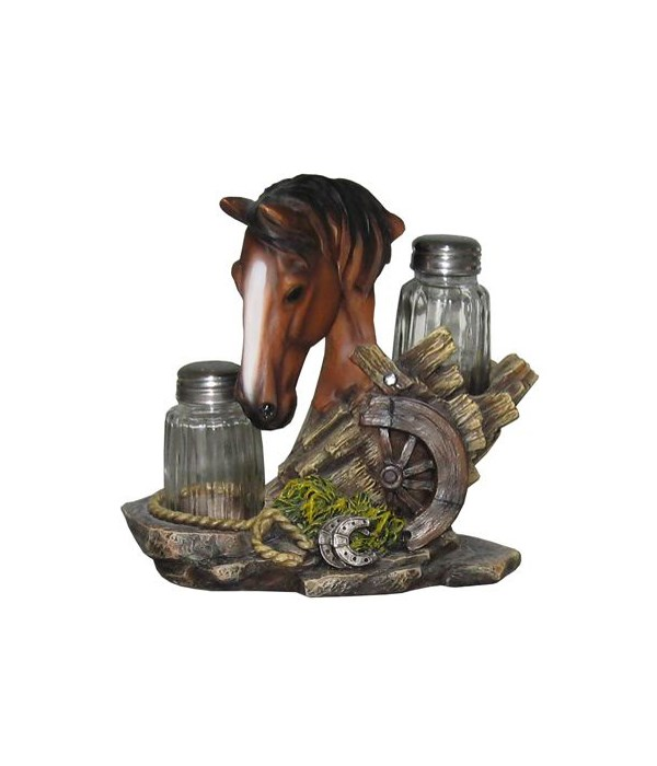 Brown Horse S/P Holders 12PC