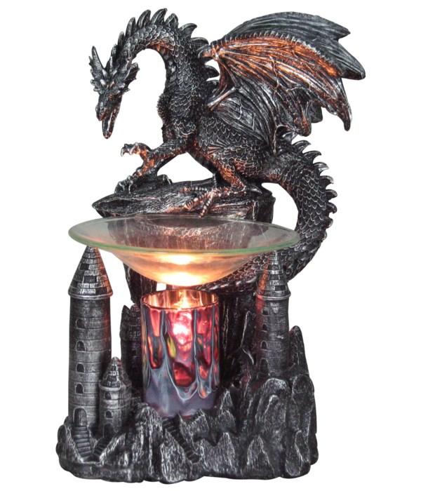 """9"""" Dragon's Peak (Dragon Oil Burner)"""