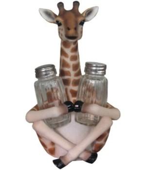 """8.5"""" Sitting Giraffe S/P 12PC"""