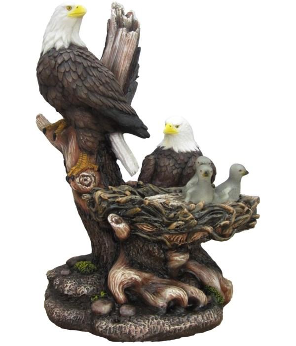"""15"""" Icarus (Eagle Family Figurine) 4PC"""