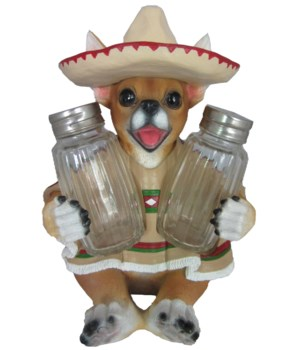 "H7"" Chihuahua w/ Poncho S/P 12PC"