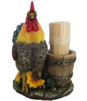"""4"""" Bright Pickin's (Rooster Toothpick Ho"""