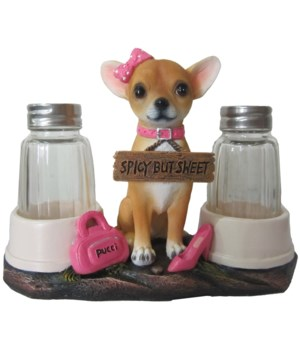 "L6.25"" Girl Chihuahua S/P 12PC"