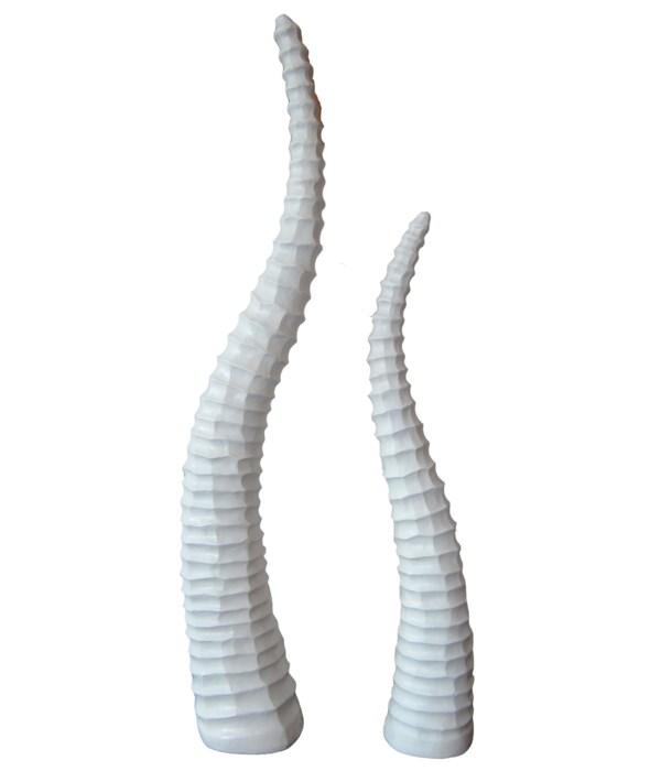 """22""""/16.5"""" Antelope Horn Set 2 Asst/3PC"""