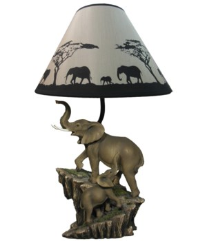 """20"""" Expedition (Elephant Lamp) 4PC"""