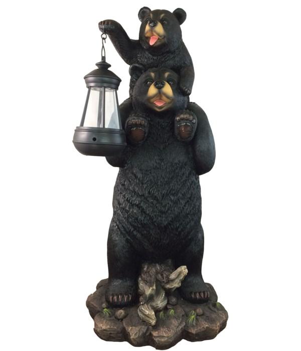 """19"""" Bear w/ Lantern """"Unto my Feet"""""""