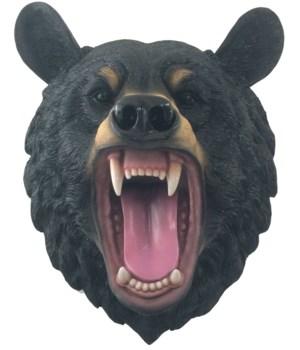 "16"" Roaring Bear Wall Hanging Head 1PC"