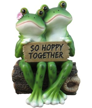"6.5"" So Hoppy Frogs (Frog Couple) 12PC"