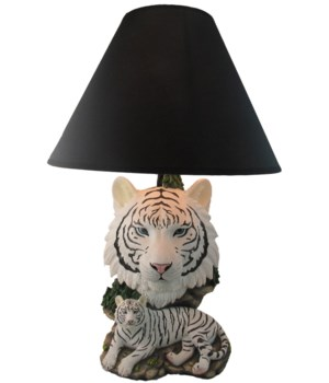 "20"" White Lightning (Tiger Lamp-Wht) 4PC"