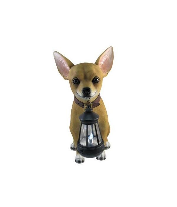 """12.5"""" Chihuahua Lantern 4PC"""