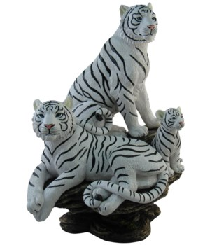 """13.5"""" Royal Family (Tiger Family Figurin"""