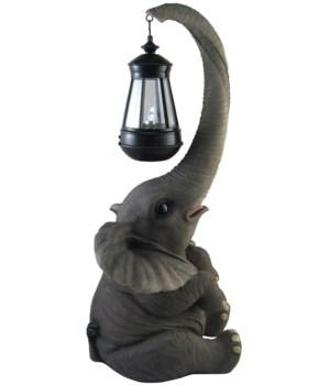 "17"" Lucy (Elephant Lantern) 1PC"