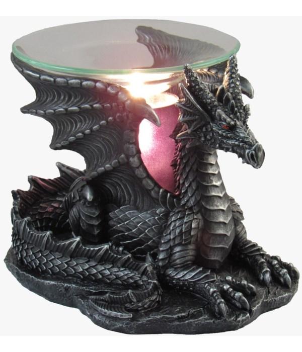 """L6.5"""" Sitting Dragon Oil Burner 6PC"""