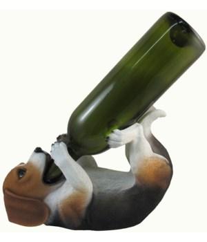 "L10"" Beagle Wine Holder 6PC"