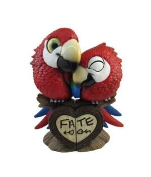 """6.5"""" Parrot Couple 2 Piece Set 12PC"""