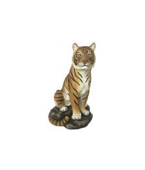 """9"""" Sitting Orange Tiger 6PC"""