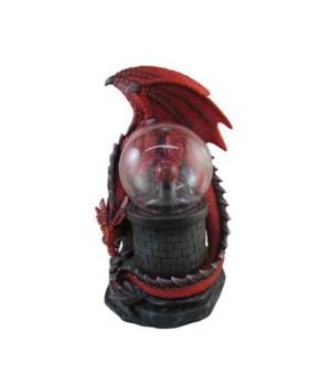 """11"""" Red Dragon Plasma Ball 4PC"""