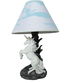 Unicorn lamp 20""