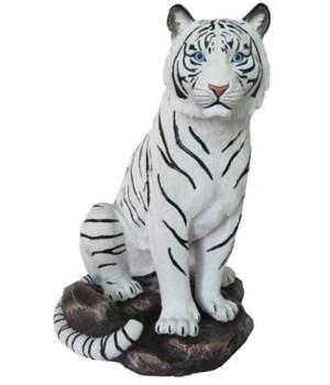 """9"""" Sitting White Tiger 6PC"""
