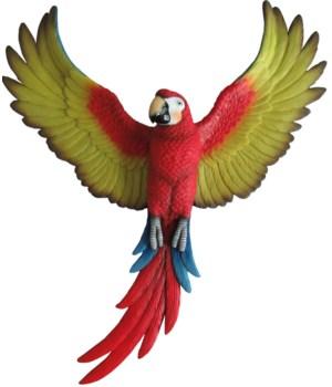 Parrot Wall Hanger 4PC