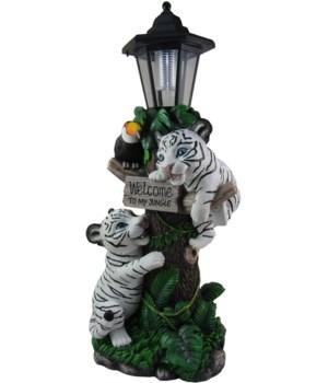 Jungle Welcome (W Tiger Lantern) 1PC