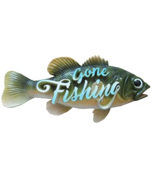Something's Fishy (Bass Sign) 4PC