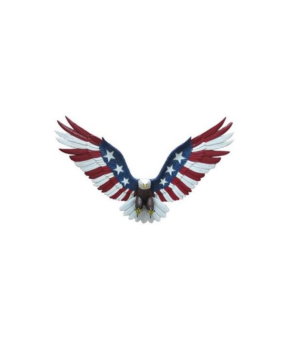 """*21.5"""" Eagle Flag Wall Hanger"""