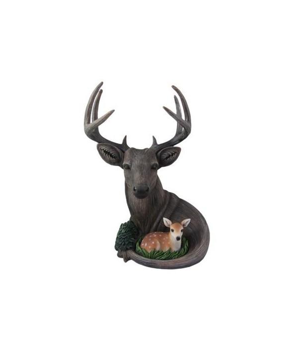 Wood Look Deer-Forest Legend