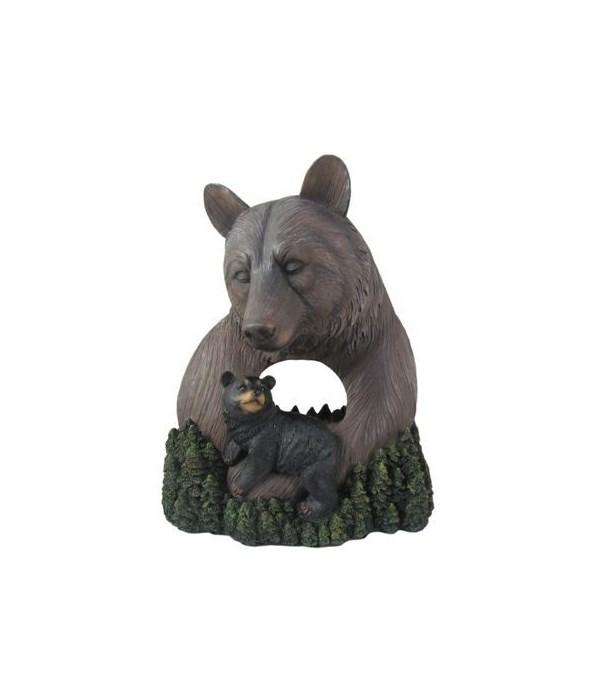 Wood Look Bear-Gentle Guidance