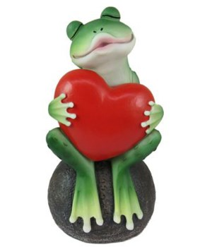 "6.15"" Frog with Heart 12PC"