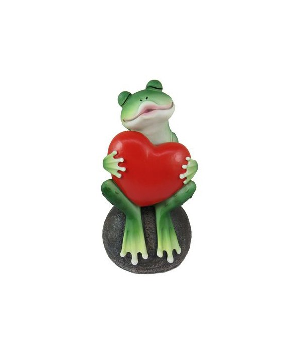 """6.15"""" Frog with Heart"""