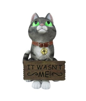 Guilty Greetings (Cat with Signs) 4PC