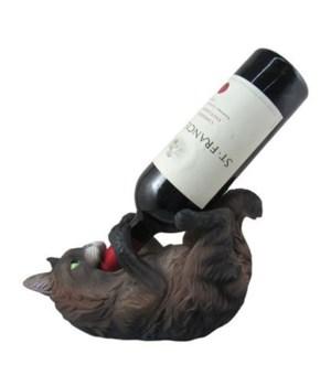 Maine Coon Cat Wineholder 6PC