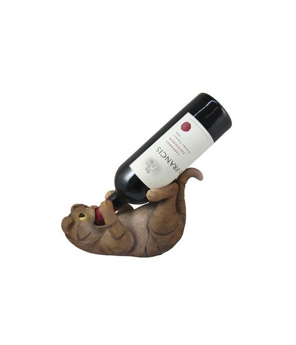 Scottish Fold Cat Wineholder 6PC